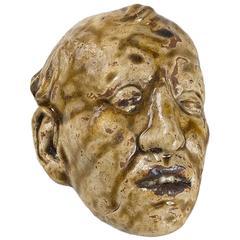 Stoneware Mask by Rupert Carabin