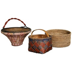 Collection of Three Swedish Baskets