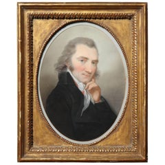 19th Century English Portrait in Gilt Frame