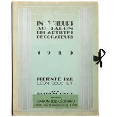 """""""Interieurs Au Salon Des Artistes Decorateurs 1929"""" by Leon Bouchet"""