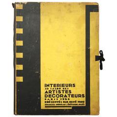 """""""Interieurs au Salon des Artistes Decorateurs – Paris 1928"""" by Rene Prou"""
