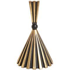 Austrian Art Deco Brass Bell
