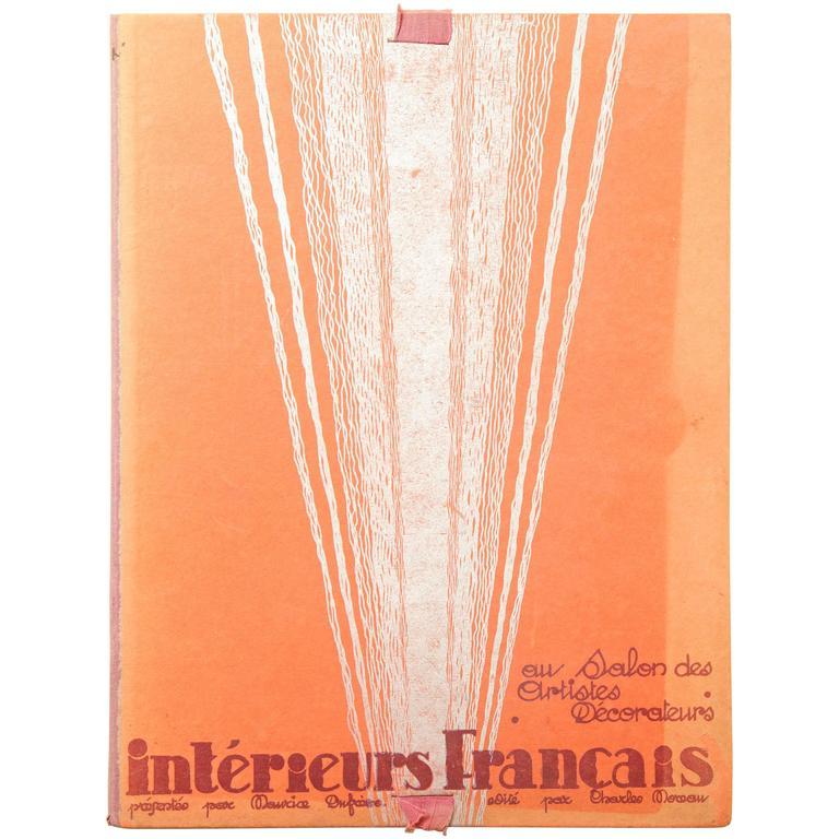 """""""Les Interieurs Francais au Salon des Artistes Decorateurs"""" by Maurice Dufrene"""