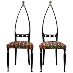Mid century  Modern chairs by Pozzi and Verga