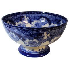 Large Royal Doulton Briar Rose Footed Bowl