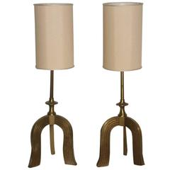 Pair of extraordinary from 1930 table Italian Art Deco Attributed to Gio Ponti