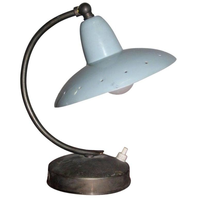 Original Table Lamp Italian Mid-Century Italian Design For Sale