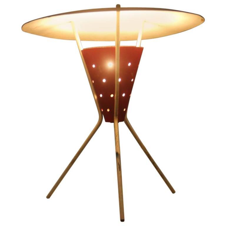 Stilux Minimal Table Lamp Italian, Mid-Century, 1950s