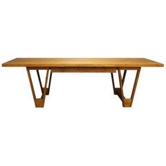 Large Coffee table in Teak Designed by Illum Wikkelsø, 1960s
