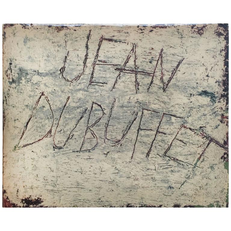 Drawings of Jean Dubuffet 1st Edition, 1960 For Sale