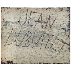 Drawings of Jean Dubuffet 1st Edition, 1960