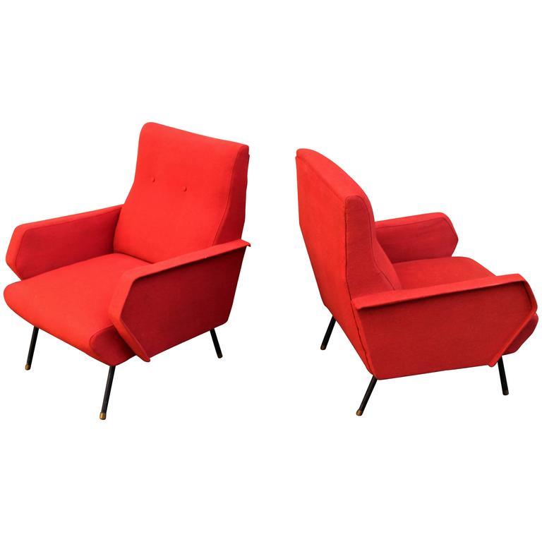 Italian Pair of Chairs 1