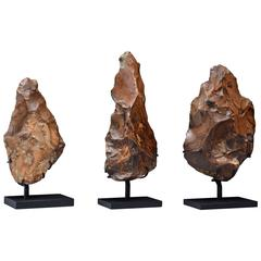 Ancient Egyptian Paleolithic Flint Hand Axes, 400,000 Years BP