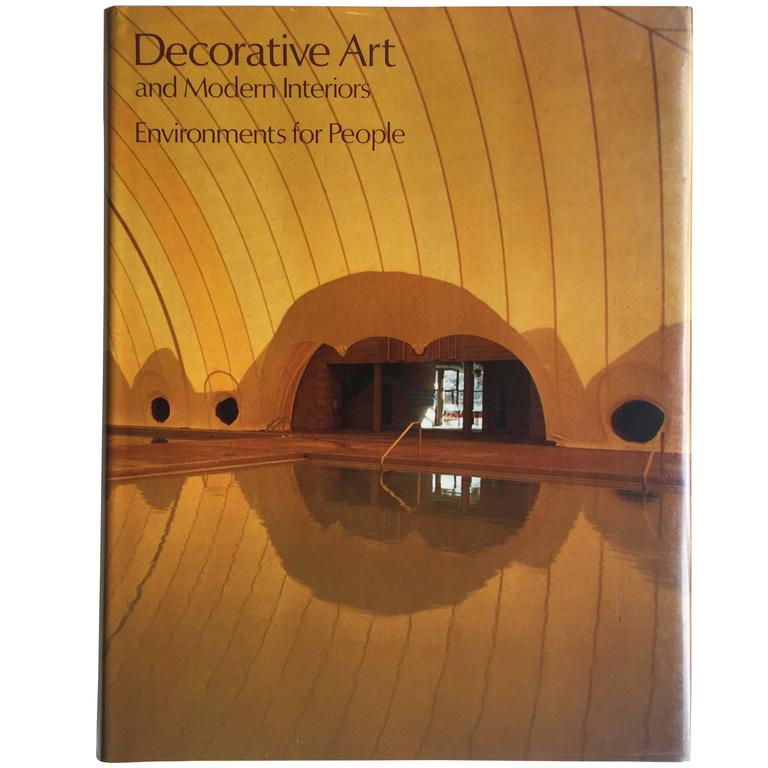 Decorative Art and Modern Interiors, Environments for People, 1980 For Sale