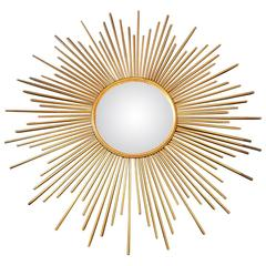 Beautiful Golden Mirror, circa 1960