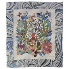 Extraordinary Beautiful Tapestry, Czechoslovakia, 1970s
