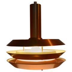 Danish Mid-Century Ceiling Lamp, 1970s