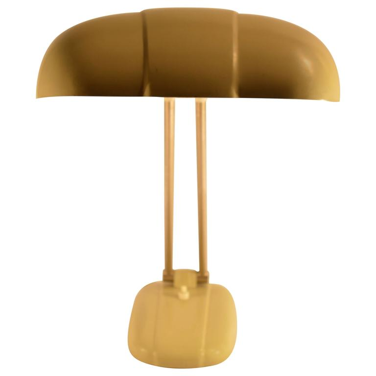 Swiss Table Lamp by Siegfried Giedion for BAG Turgi, 1930s