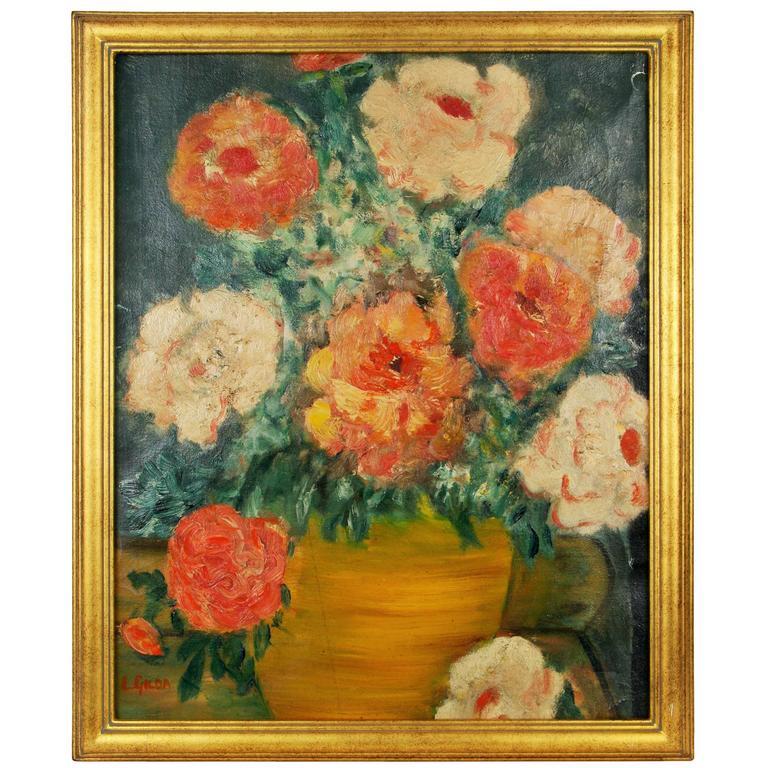 Flowers Still Life Painting