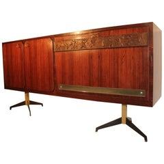 Elegant Sideboard Italian Mid-Century Design