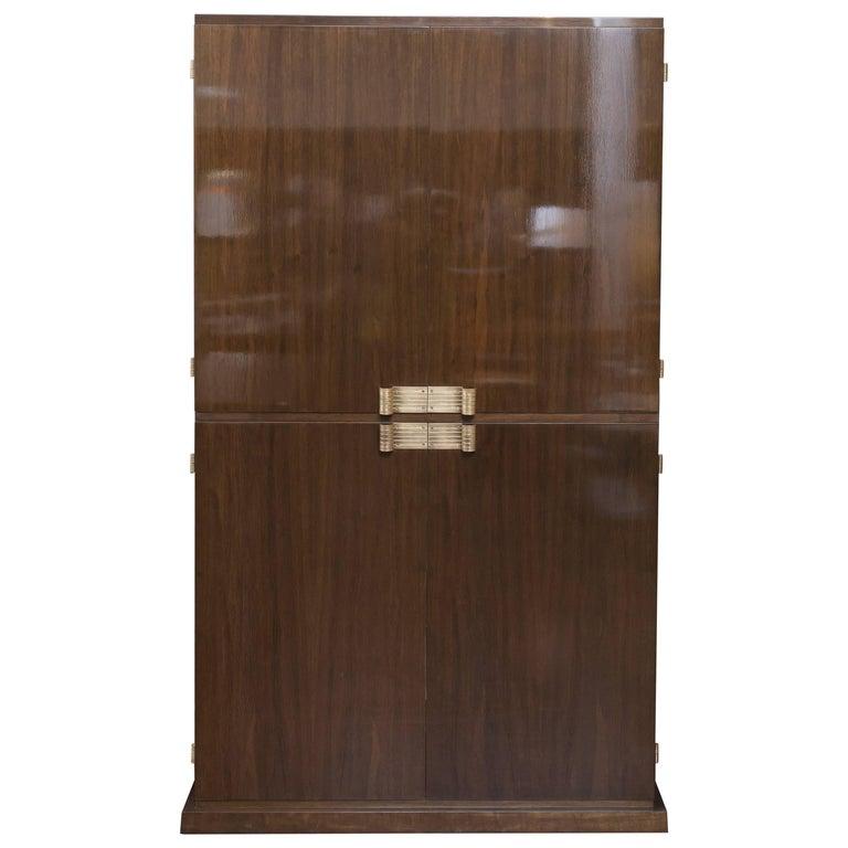 Tommi Parzinger Bar Cabinet For Sale