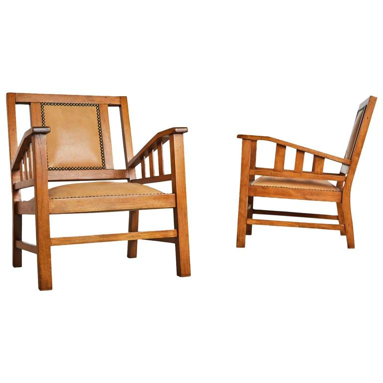 Francis Jourdain French Art Deco Modernist Pair of Armchairs, circa 1920 For Sale