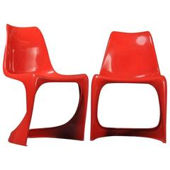 Two Ding Chairs by Alexander Begge for Casala, 1970-1979