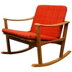 Finn Juhl Oak Rocking Chair