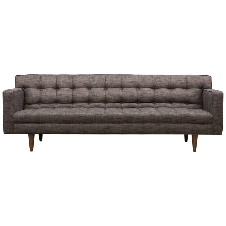 Edward Wormley Sofa 39 B 39 New Upholstery For Sale At 1stdibs