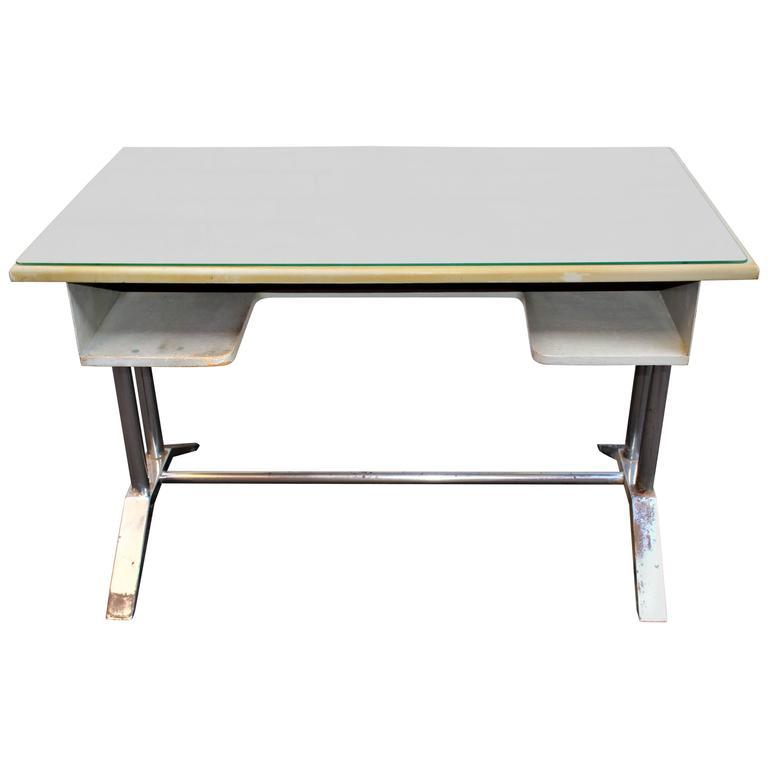 Poli Metal Desk For Sale