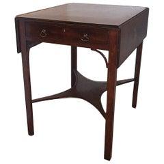 19th Century George III Mahogany Pembroke Table