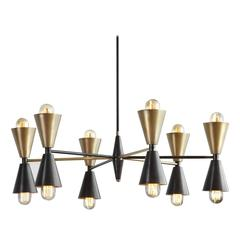 Stella Made-to-Order Brass Chandelier