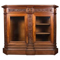 Ernesto Petralli and Fratello Writing Desk-Bookcase, XIXth