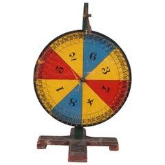 Corlorful Carnival Wheel
