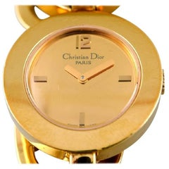 """Christian Dior """"A Lady's Wristwatch of Gold-Plated Steel"""", Quartz"""
