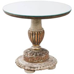 Gilt and Gesso Side Table