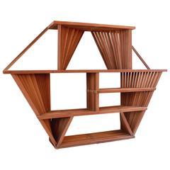 1970s Studio Wooden Shelf