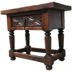 Gothic Style Side Table