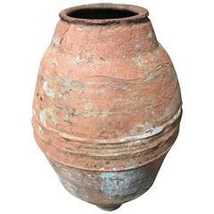 19th Century Mediterranean Terracotta Olive Oil Vessel