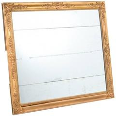 Antique French 19th Century Gilt Mirror