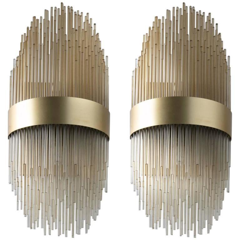 Pair of Italian 1960s Wall Lamps 1