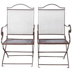 Chain Mail Garden Chairs