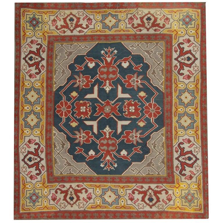Gold Handmade Carpet Antique Kilim Rugs