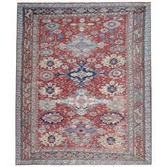 Antique Persian Rugs from Caucasia, Soumak Flat-Weave Rug