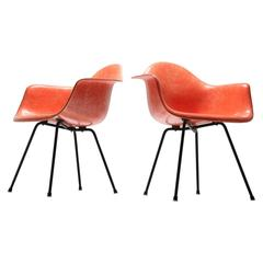 Mid-Century Eames Zenith Dax Chairs