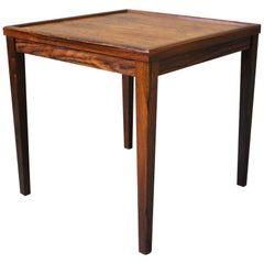 Small Side Table in Rosewood of Danish Design from the 1960s
