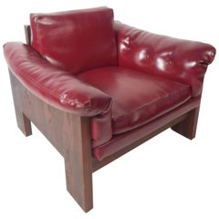 Mid-Century Modern Rosewood Lounge Chair by Milo Baughman for Thayer Coggin