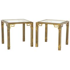 Pair of Mastercraft Side Tables