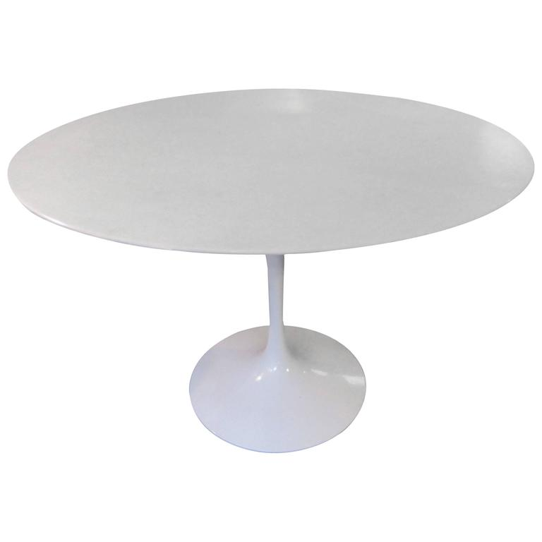 Eero Saarinen Knoll Marble Dining Table 1