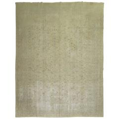 Shabby Chic Turkish Ghiordes Rug